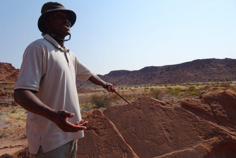 Rondleiding Twyfelfontein Damaraland