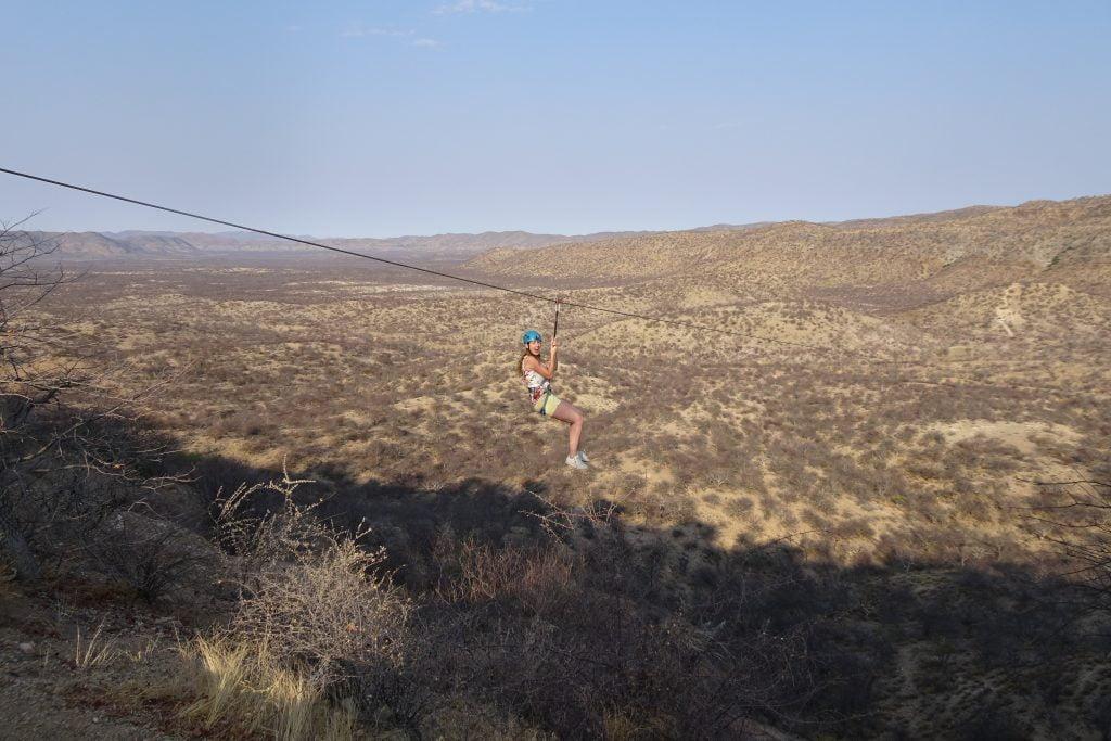 Zipline Namibie