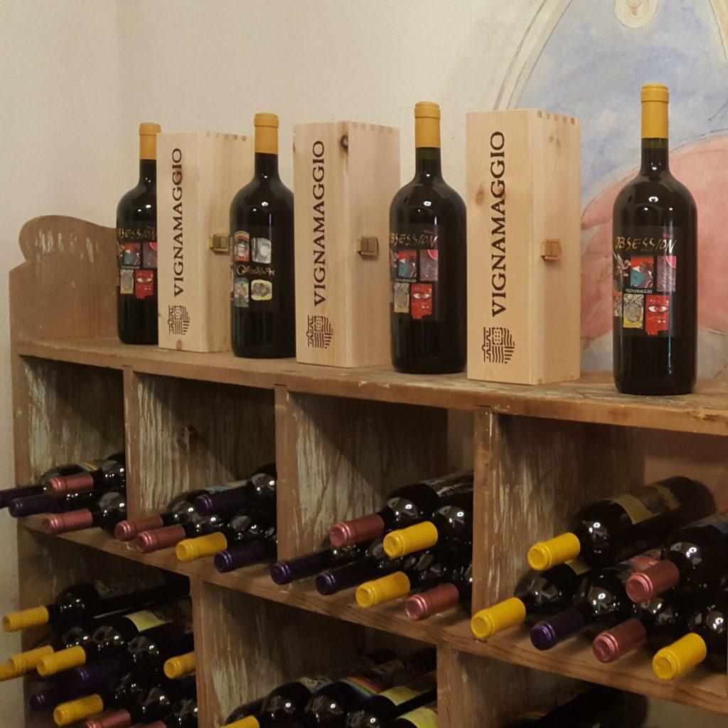 Wijn proeverij Toscane