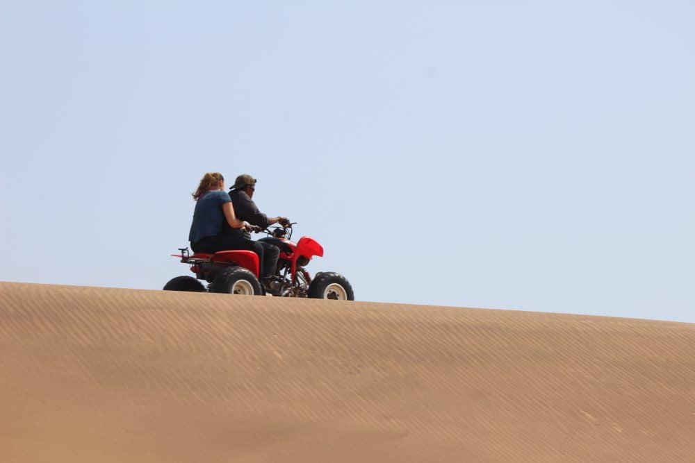 Sandboarden Namibie