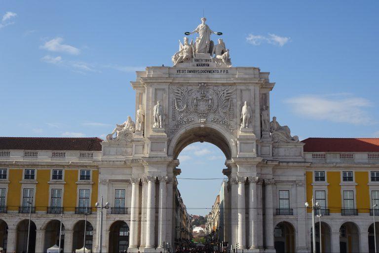 Praca do Comercio Lissabon stedentrip