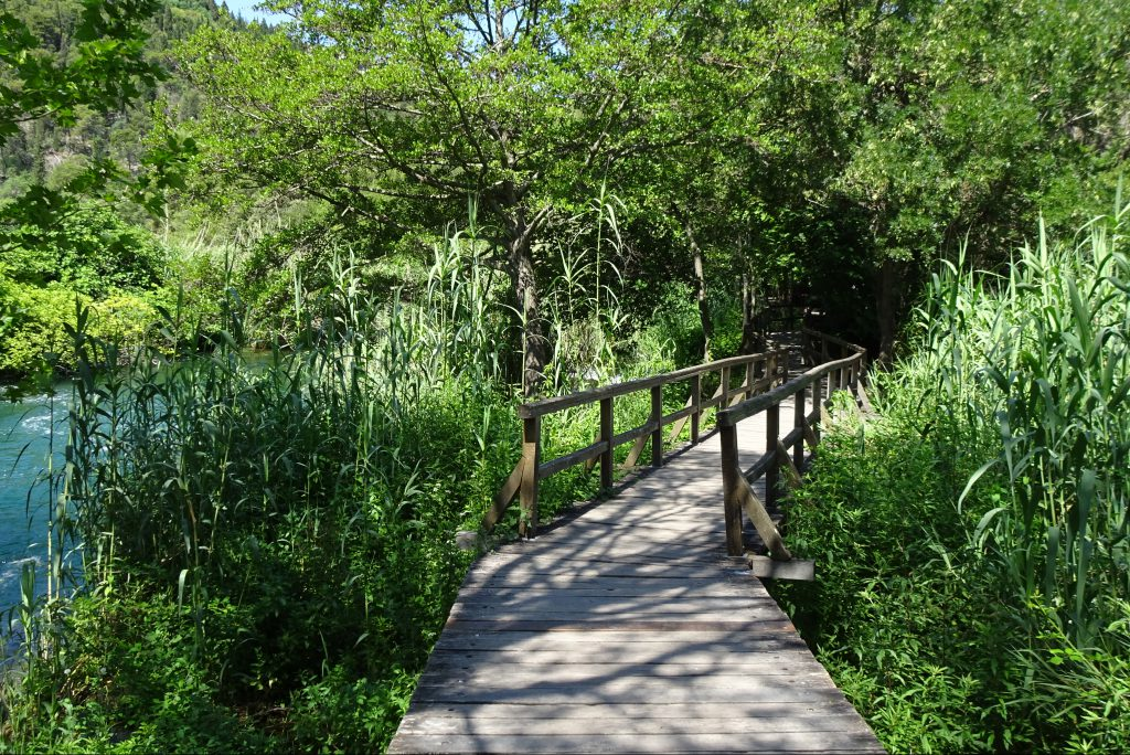 Wandelpaden Krka Nationaal Park