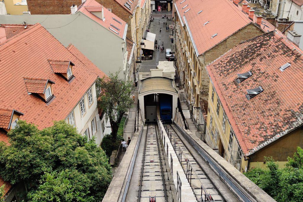 kabelbaan van Zagreb