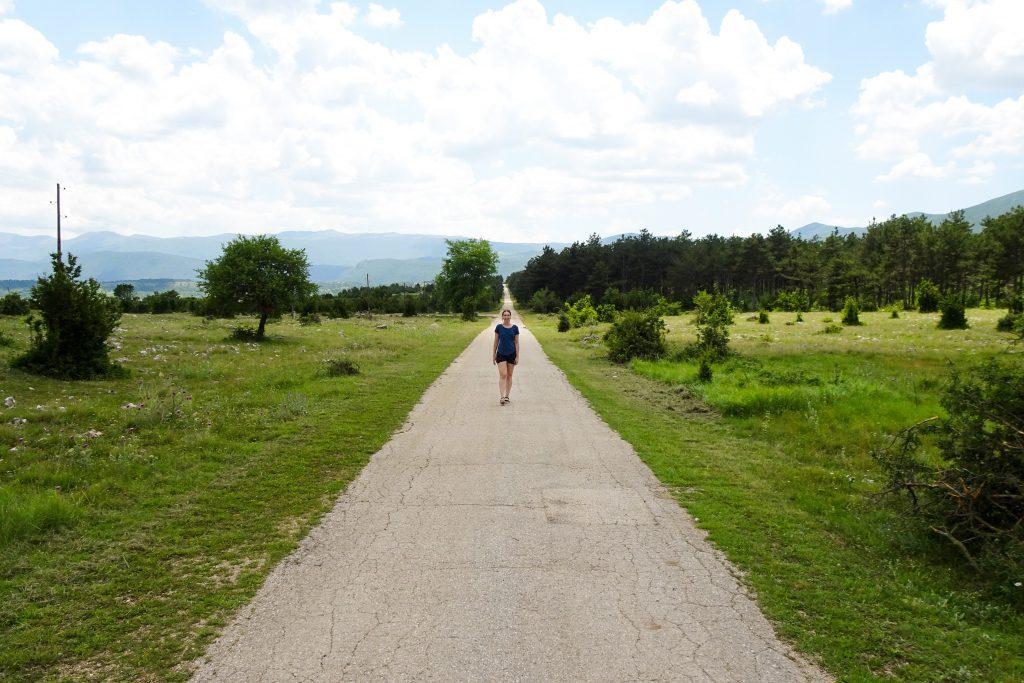 Izvor Cetine landschap