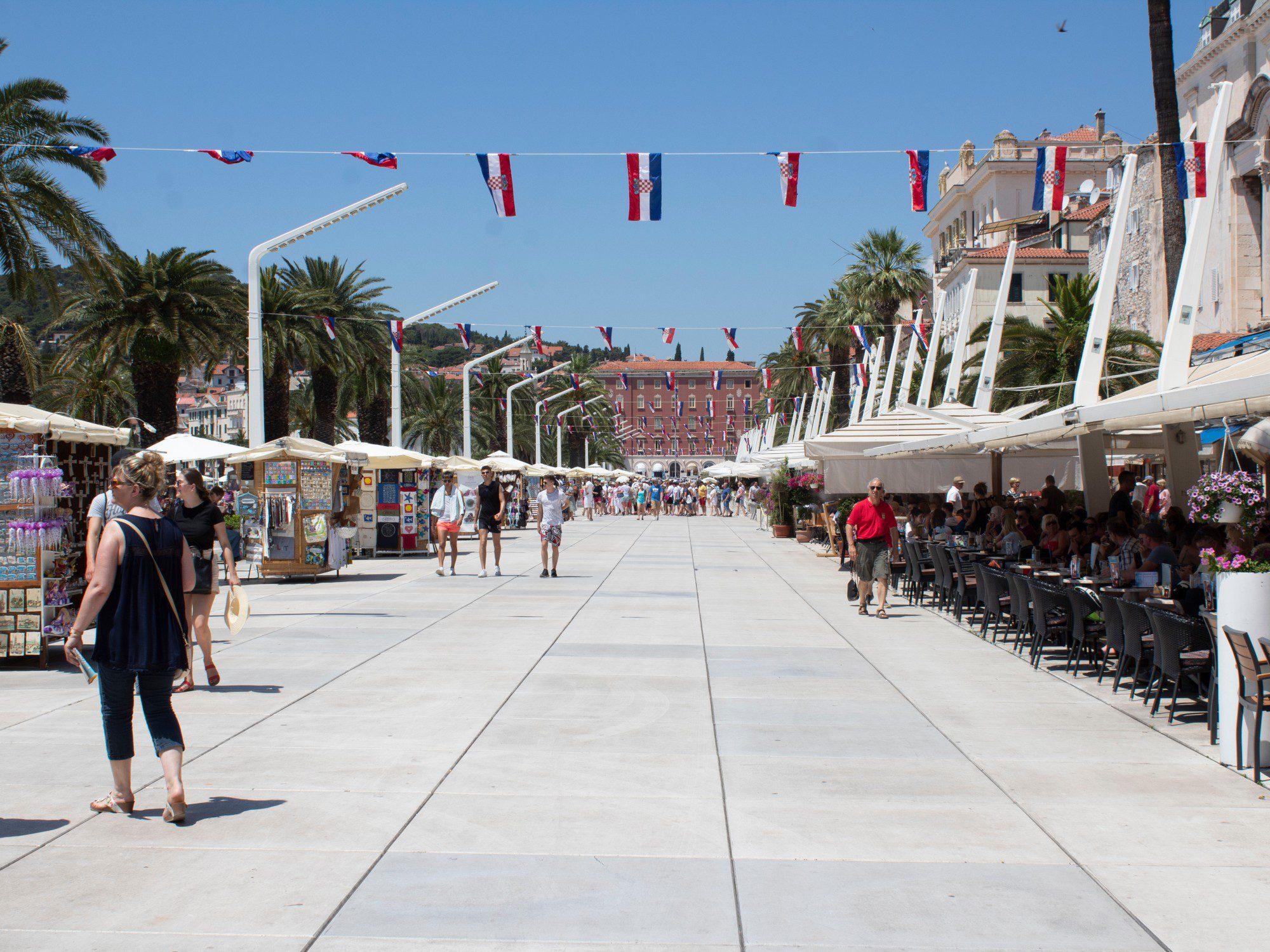 Riva boulevard Split