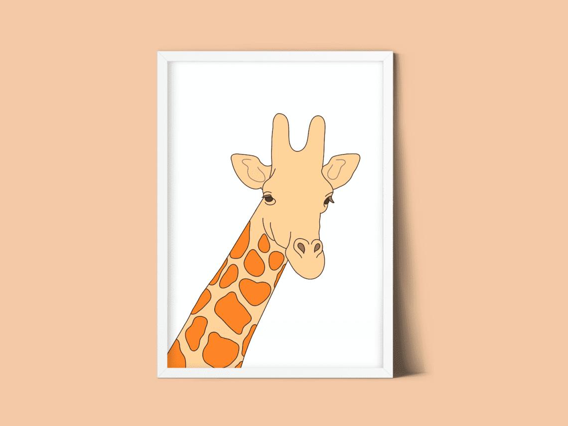 Thumbnail giraf print