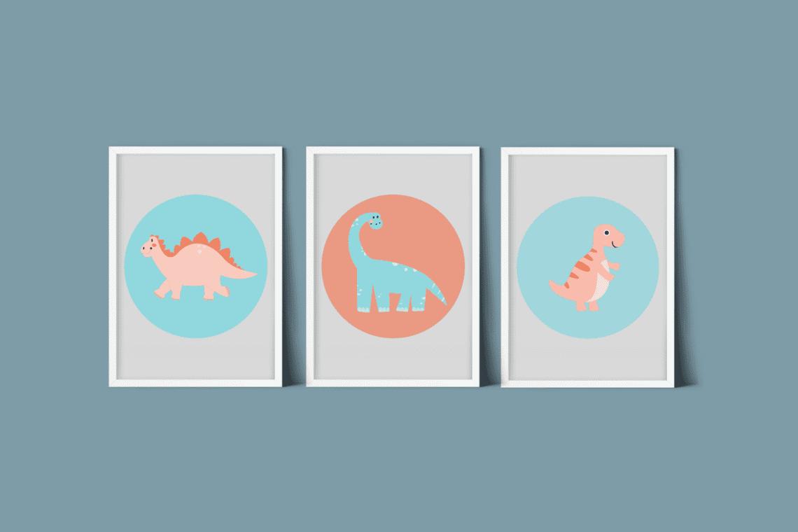 Dino poster kinderkamer