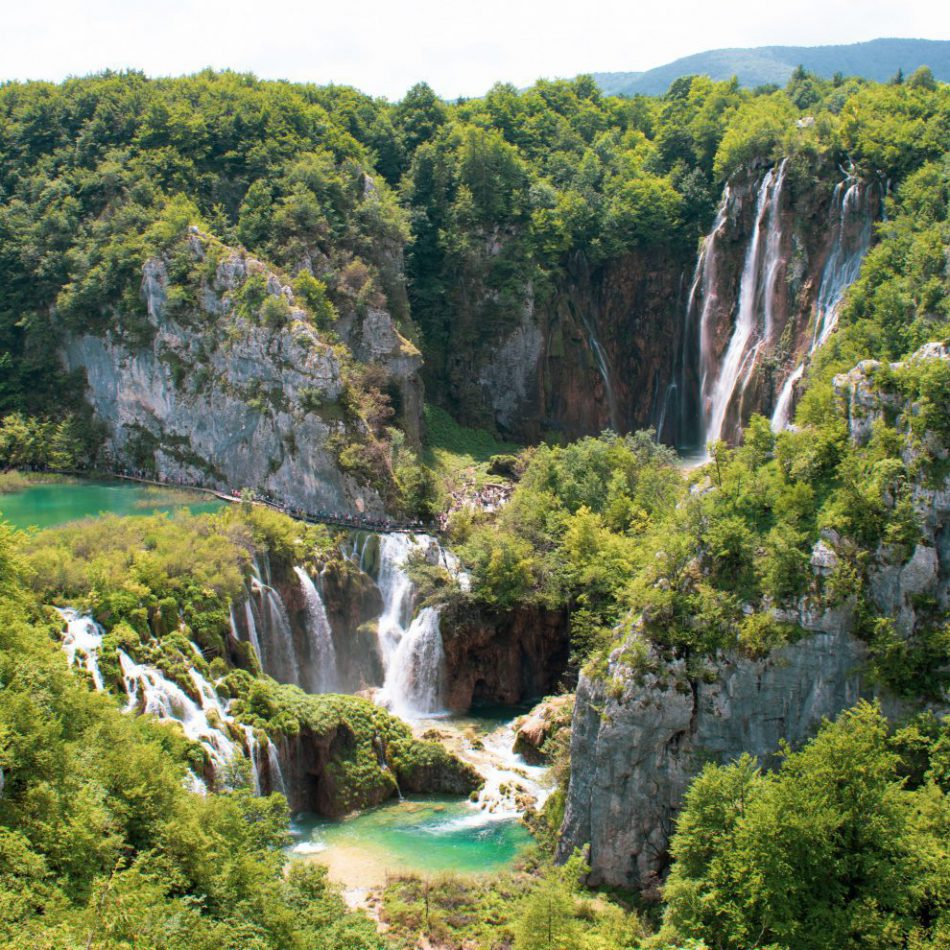 Plitvicemeren watervallen